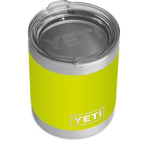 Rambler 10 oz Lowball with Standard Lid-YRAM10_Chartreuse