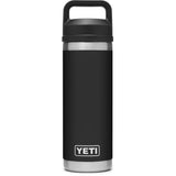 Rambler 18 oz Bottle with Chug Cap-YRAM18CHUG_Black
