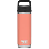 Rambler 18 oz Bottle with Chug Cap-YRAM18CHUG_Coral
