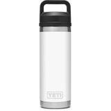 Rambler 18 oz Bottle with Chug Cap-YRAM18CHUG_White