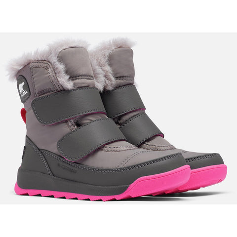 Youth Whitney II Strap Boot - Clearance-Sorel-Quarry-8-Uncle Dan's, Rock/Creek, and Gearhead Outfitters