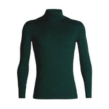 Men's 200 Oasis Long Sleeve Half Zip-Icebreaker-Imperial Heather-S-Uncle Dan's, Rock/Creek, and Gearhead Outfitters