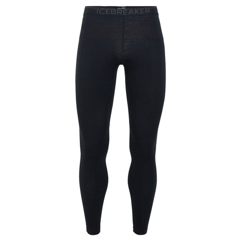 Men's BodyfitZONE 200 Zone Leggings-Icebreaker-Black Mineral-S-Uncle Dan's, Rock/Creek, and Gearhead Outfitters
