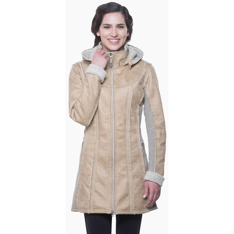 Women's Dani Sherpa Trench-KUHL-Oak-S-Uncle Dan's, Rock/Creek, and Gearhead Outfitters