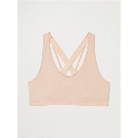 Women's Give-N-Go 2.0 Sport Mesh Bralette-ExOfficio-Buff-XS-Uncle Dan's, Rock/Creek, and Gearhead Outfitters