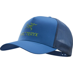 Logo Trucker Hat-Arc'teryx-Black-Uncle Dan's, Rock/Creek, and Gearhead Outfitters
