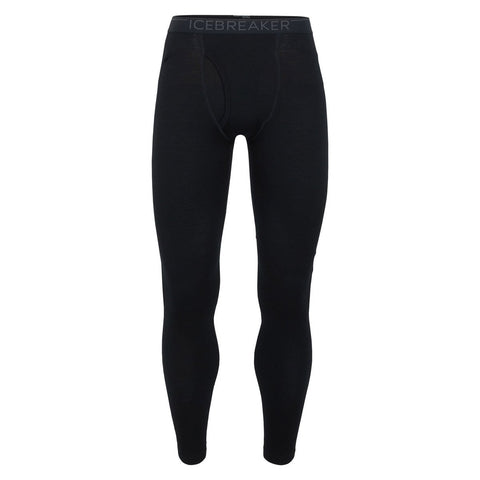 Men's 260 Tech Leggings with Fly-Icebreaker-Black Monsoon-S-Uncle Dan's, Rock/Creek, and Gearhead Outfitters