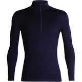 Men's 260 Tech Long Sleeve Half Zip-Icebreaker-Midnight Navy-S-Uncle Dan's, Rock/Creek, and Gearhead Outfitters