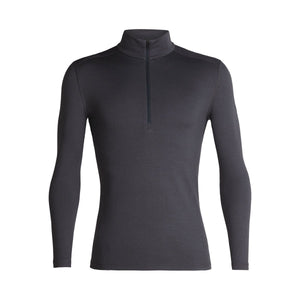 Men's 260 Tech Long Sleeve Half Zip-Icebreaker-Monsoon-S-Uncle Dan's, Rock/Creek, and Gearhead Outfitters