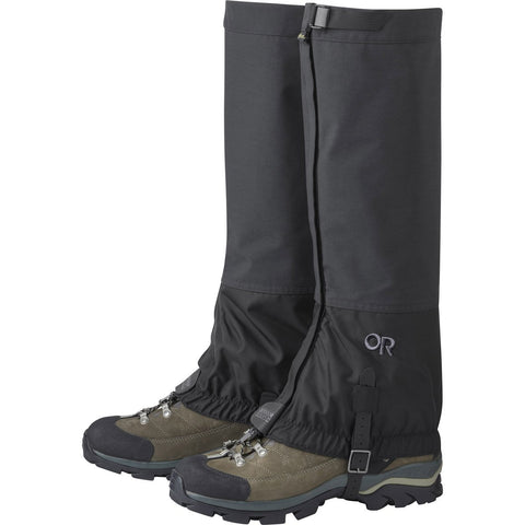Cascadia II Gaiters-Outdoor Research-Black-M-Uncle Dan's, Rock/Creek, and Gearhead Outfitters