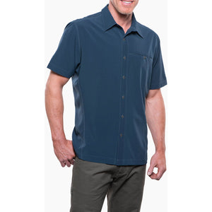 Men's Renegade Shirt-Kuhl-Pirate Blue-S-Uncle Dan's, Rock/Creek, and Gearhead Outfitters