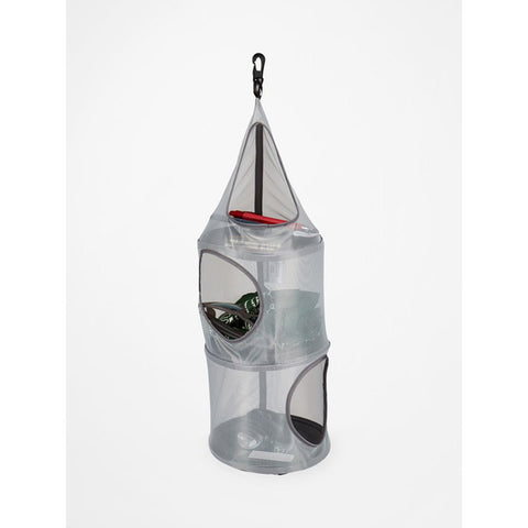 Birdhouse 3-Shelf Hanging Tent Organizer-Marmot-Steel Onyx-Uncle Dan's, Rock/Creek, and Gearhead Outfitters