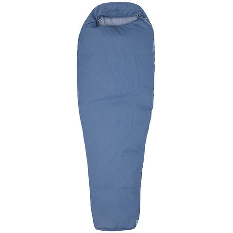 Nanowave 55 Sleeping Bag - Long-Marmot-Steel Onyx-LNG LEFT-Uncle Dan's, Rock/Creek, and Gearhead Outfitters