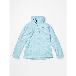 Marmot Women's PreCip Eco Jacket-46700_Corydalis Blue