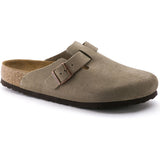 Birkenstock Boston Soft Footbed Suede Leather-560771_Taupe