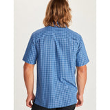 Marmot Men's Eldridge Short Sleeve Shirt-62220_Varsity Blue