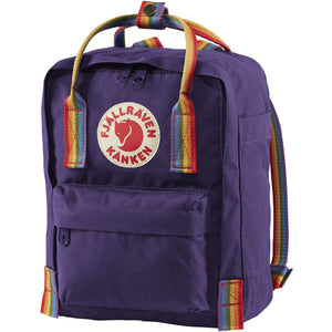 Fjallraven-kanken-rainbow-mini-f23621_Purple-Rainbow Pattern