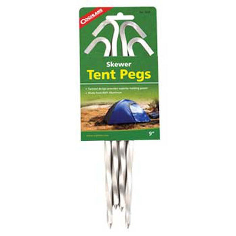 Aluminum Skewer Tent Pegs-Coghlan's-Uncle Dan's, Rock/Creek, and Gearhead Outfitters