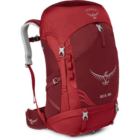 Kids Ace 38 Backpack-Osprey-Paprika Red-Uncle Dan's, Rock/Creek, and Gearhead Outfitters