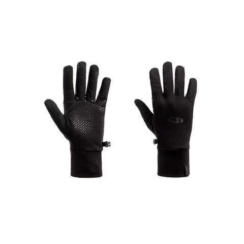 RealFLEECE Sierra Gloves-Icebreaker-Black Black-S-Uncle Dan's, Rock/Creek, and Gearhead Outfitters