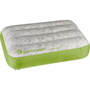 Aeros Down Pillow - Large-Sea to Summit-Lime-Uncle Dan's, Rock/Creek, and Gearhead Outfitters
