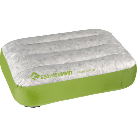 Aeros Down Pillow - Regular-Sea to Summit-Lime-Uncle Dan's, Rock/Creek, and Gearhead Outfitters