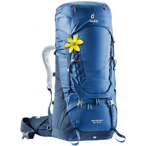 Aircontact 60 + 10 SL-Deuter-Steel/Midnight-Uncle Dan's, Rock/Creek, and Gearhead Outfitters