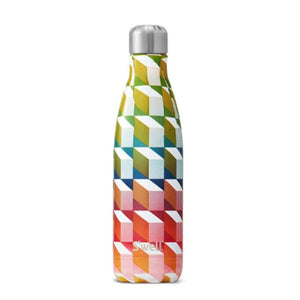 Art Deco Water Bottle 17 oz-S'well-Cubism-Uncle Dan's, Rock/Creek, and Gearhead Outfitters