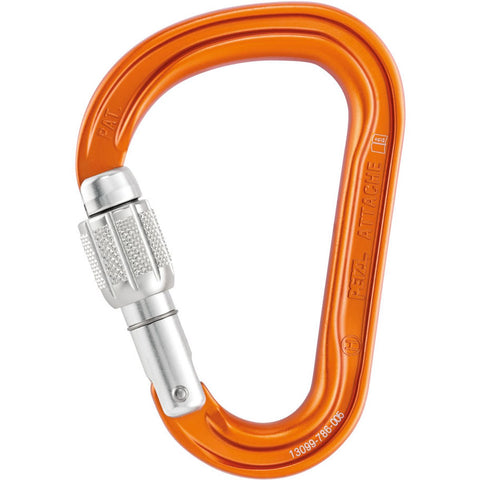 Attache Screw-Lock Carabiner-Petzl-Uncle Dan's, Rock/Creek, and Gearhead Outfitters