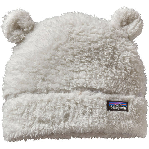 Baby Furry Friends Hat-Patagonia-Birch White-6-12M-Uncle Dan's, Rock/Creek, and Gearhead Outfitters