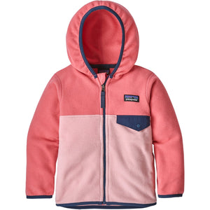 Baby Micro D Snap-T Jacket-Patagonia-Rosebud Pink-6-12M-Uncle Dan's, Rock/Creek, and Gearhead Outfitters