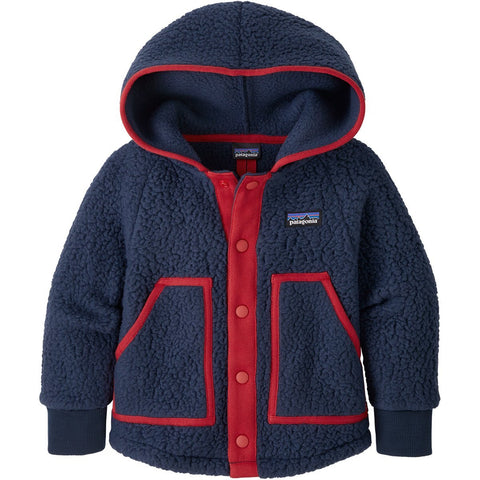 Baby Retro Pile Jacket - Clearance - Clearance-Patagonia-New Navy-3-6M-Uncle Dan's, Rock/Creek, and Gearhead Outfitters