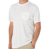 Men's Bamboo Channel Pocket Tee-Free Fly-White-S-Uncle Dan's, Rock/Creek, and Gearhead Outfitters