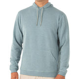 Men's Bamboo Fleece Pullover Hoody-Free Fly-Heather Marine-S-Uncle Dan's, Rock/Creek, and Gearhead Outfitters