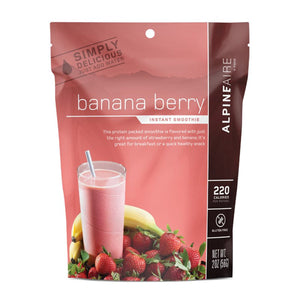 Banana Berry Smoothie-AlpineAire-Uncle Dan's, Rock/Creek, and Gearhead Outfitters
