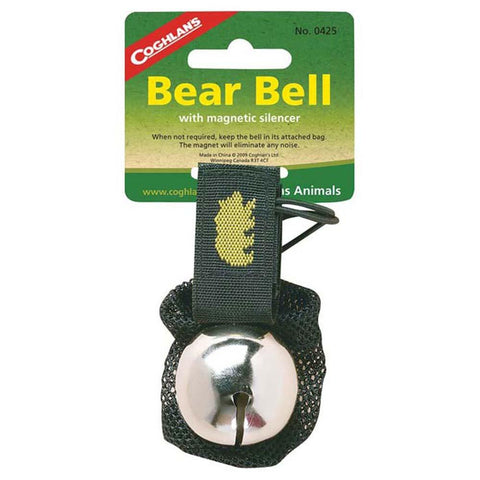 Bear Bell with Silencer-Coghlan's-Uncle Dan's, Rock/Creek, and Gearhead Outfitters