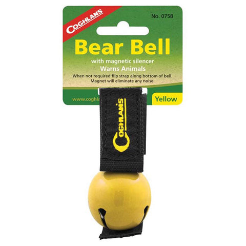Bear Bell w/ Magnetic Silencer-Coghlan's-Uncle Dan's, Rock/Creek, and Gearhead Outfitters