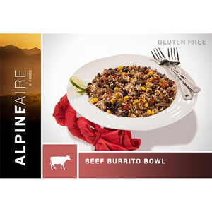 Beef & Rice Burrito Bowl-AlpineAire-Uncle Dan's, Rock/Creek, and Gearhead Outfitters