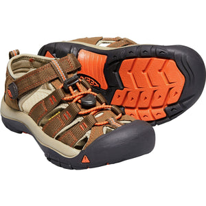 Big Kids Newport H2 Sandal-KEEN-Dark Earth Spicy Orange-1-Uncle Dan's, Rock/Creek, and Gearhead Outfitters