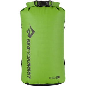 Big River Dry Bag 20L-Sea to Summit-Apple Green-Uncle Dan's, Rock/Creek, and Gearhead Outfitters