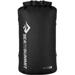 Big River Dry Bag 20L-Sea to Summit-Black-Uncle Dan's, Rock/Creek, and Gearhead Outfitters