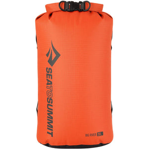 Big River Dry Bag 20L-Sea to Summit-Orange-Uncle Dan's, Rock/Creek, and Gearhead Outfitters