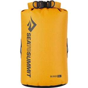 Big River Dry Bag 13L-Sea to Summit-Yellow-Uncle Dan's, Rock/Creek, and Gearhead Outfitters