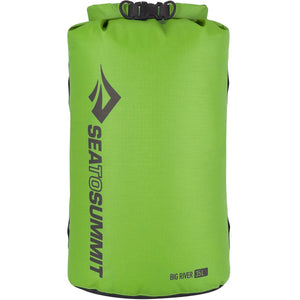 Big River Dry Bag 35L-Sea to Summit-Apple Green-Uncle Dan's, Rock/Creek, and Gearhead Outfitters