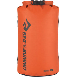 Big River Dry Bag 35L-Sea to Summit-Orange-Uncle Dan's, Rock/Creek, and Gearhead Outfitters