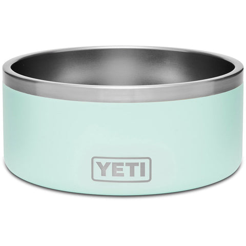 Boomer 8 Dog Bowl-Yeti-Seafoam-Uncle Dan's, Rock/Creek, and Gearhead Outfitters