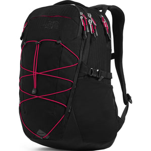 Borealis Backpack-The North Face-TNF Black Light Directional Heather/TNF Red-Uncle Dan's, Rock/Creek, and Gearhead Outfitters