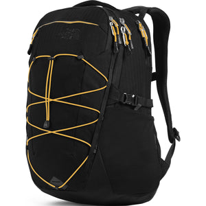 Borealis Backpack-The North Face-TNF Black Light Directional Heather/TNF Yellow-Uncle Dan's, Rock/Creek, and Gearhead Outfitters