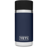 Rambler 12 oz Bottle with HotShot Cap-Yeti-Navy-Uncle Dan's, Rock/Creek, and Gearhead Outfitters