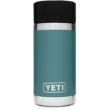 Rambler 12 oz Bottle with HotShot Cap-Yeti-River Green-Uncle Dan's, Rock/Creek, and Gearhead Outfitters